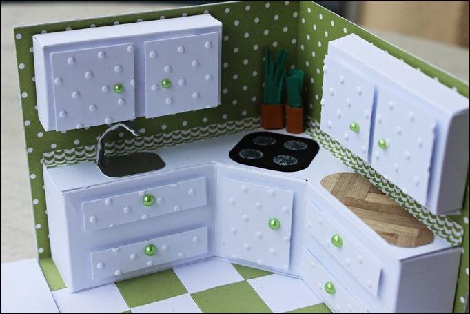 Explosion Box Stampin Up Küche Kitchen 04