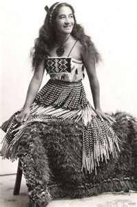 Maori dancer, Rotorua