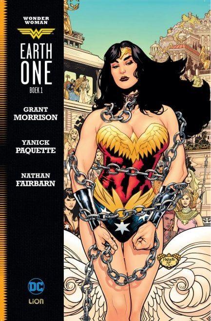 """""""Wonder Woman: Terra Uno"""", la graphic novel pubblicata dalla RW-Lion"""
