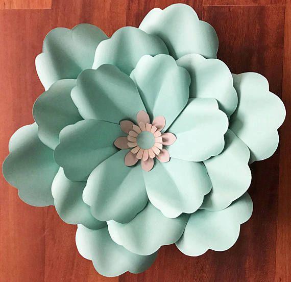 svg petal 53 paper flower petal template with base digital version original design by annie. Black Bedroom Furniture Sets. Home Design Ideas
