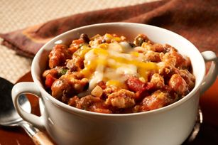 Make-Ahead Smokey Chipotle Chicken Chili recipe