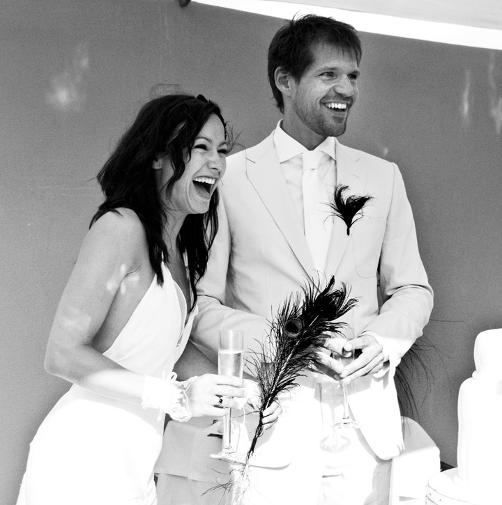 wedding speeches and toast. Tanya & René