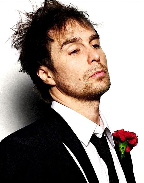 Sam Rockwell. I love this man. He's an amazing actor.  he's in two if my favorite movies. Galaxy Quest and The Green Mile.