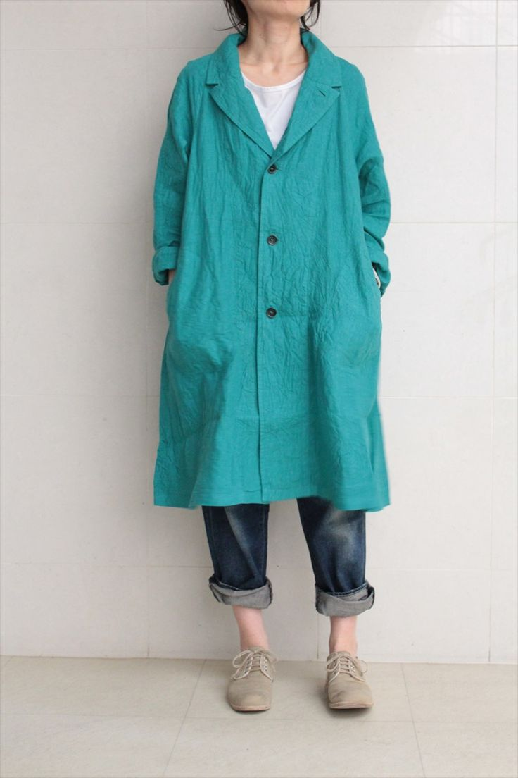Yarmo<br>Raglan Linen Coat - Other Brand,OUTER - Veritecoeur(ヴェリテクール)