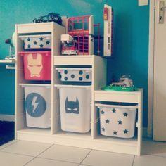 Ikea hack / Trofast / Super héros