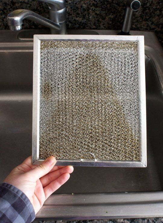 How To Clean a Greasy Range Hood Filter — Cleaning Lessons from The Kitchn | The Kitchn - this worked AWESOME!!!!!