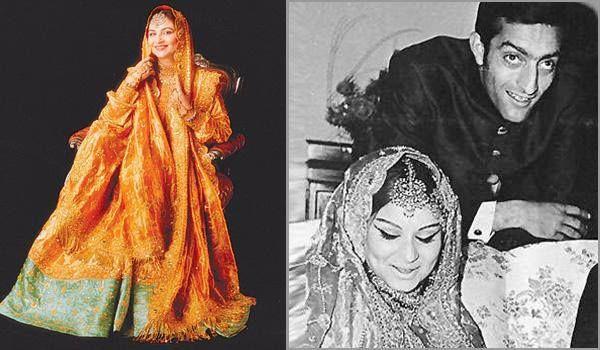SharmilaTagore Sharmila Broke Her Fans Hearts When She Got Married To Cricketer And The NawabPataudi Mansoor Ali Khan Pataudi Wore A Stun