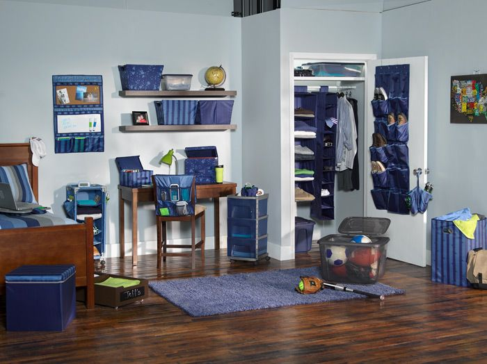 What you can use for storage when you don 39 t have shelves - College dorm storage ideas ...