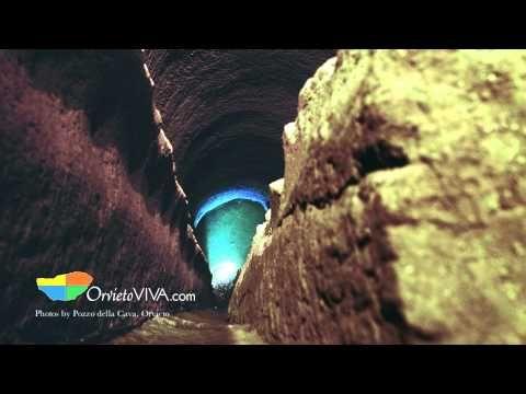 Pozzo della Cava audio guide in English, Orvieto Umbria - Orvietoviva.com