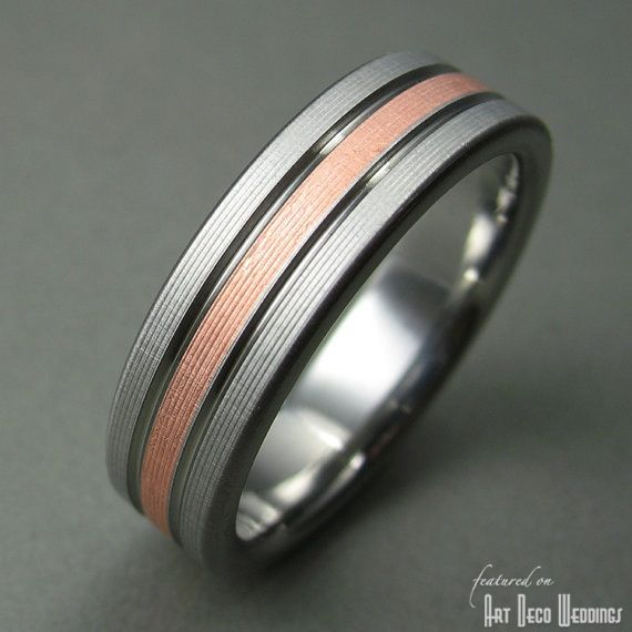 20 best RINGS images on Pinterest Rings Black wedding bands and