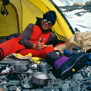 Primus MultiFuel, the first stove that can run on LP gas, whitegas, kerosene and even aviation fuel, is tested during an ascent of Mount Everest by the adventurer Göran Kropp. It is successfully launched the following year.