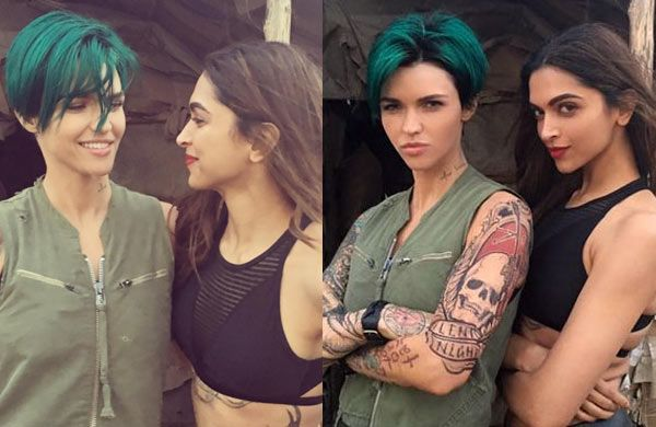 Oh My! Deepika Padukones xXx co-star Ruby Rose is BADLY crushing on her  view pic!