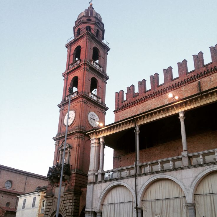 Faenza Italy beautiful clock tower :)