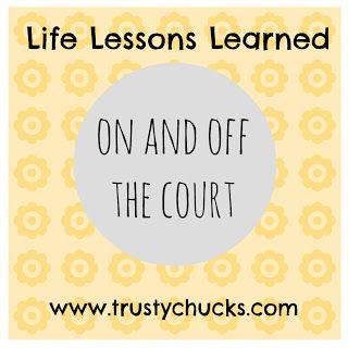 TrustyChucks: basketball and lace