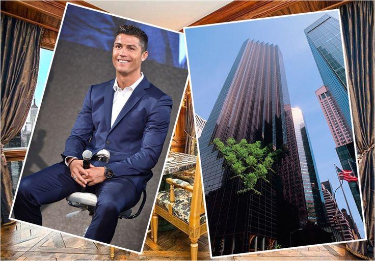 Take a look at Crisitano Ronaldo's $18.5million New York Apartment