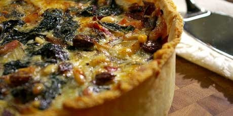 Savoury Swiss Chard Tart | Food For Thought | Pinterest