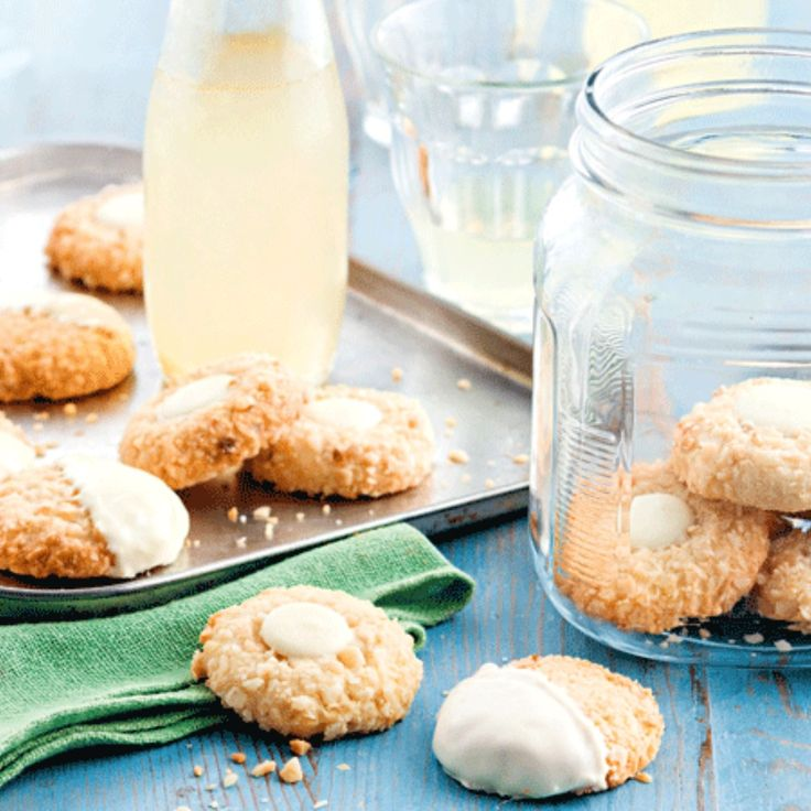 These White Chocolate and Macadamia Biscuits by simba5 have been dubbed the best ever!