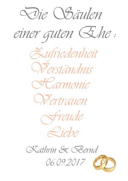 Weiteres – Druck A4 Print Geschenk zur Hochzeit Verlobung – ein Designerstück v…
