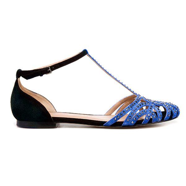 Zara Flat Jelly Sandals
