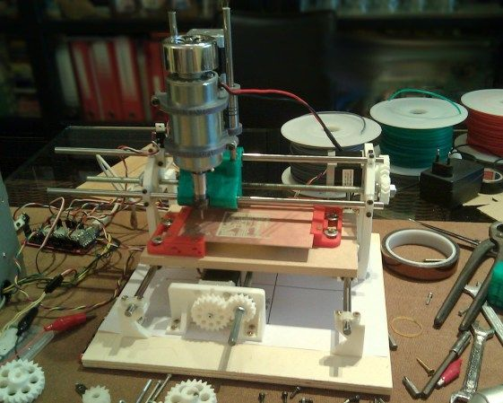 Cyclone Pcb Factory 3d Printable Circuit Board Mill Hackaday