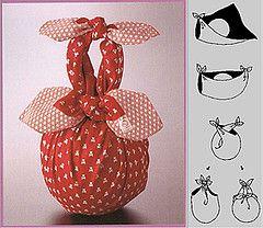Furoshiki y la navidad!