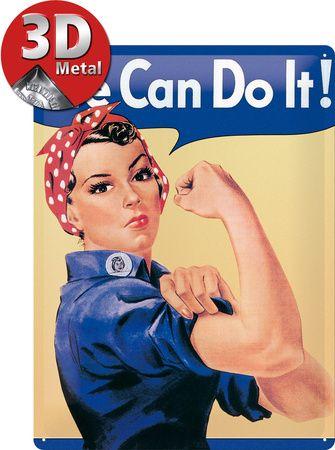 We can do it Plakietka emaliowana w AllPosters.pl