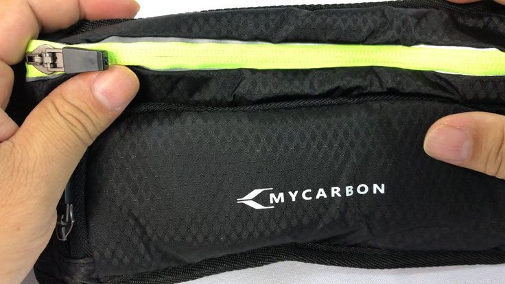 MYCARBON Waist Pack Running Belt with Water Bottle Holder Review