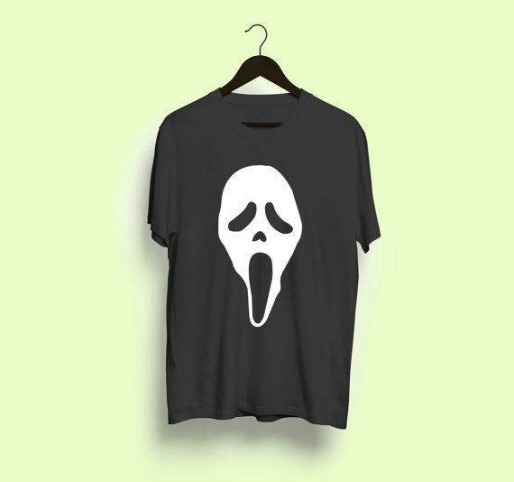Scream Ghostface Fan T-Shirt horror movie film