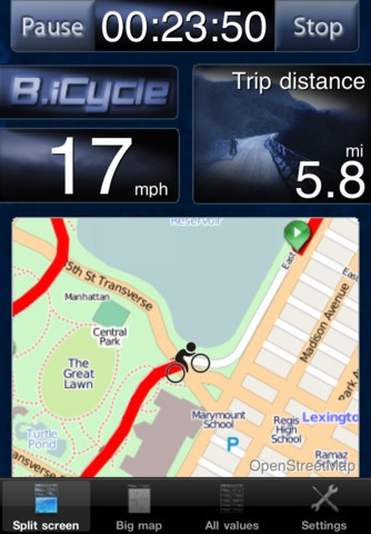 cycling gps app iphone