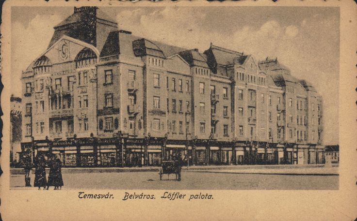 Timisoara - Cetate, Palatul Loffer / Belvaros - Loffer Palota.1921