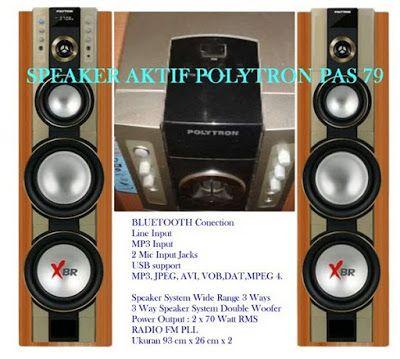 Harga Aktif Speaker Polytron PAS 79 XBR