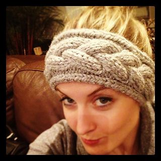 knit:  free pattern.  the perfect braided (and boardered) headband.  cabled.