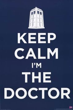 Keep Calm...The Doctor is in! A great poster for Doctor Who fans. Fully licensed. Ships fast. 24x36 inches. Take some Time to check out the rest of our great selection of Doctor Who posters! Need Post