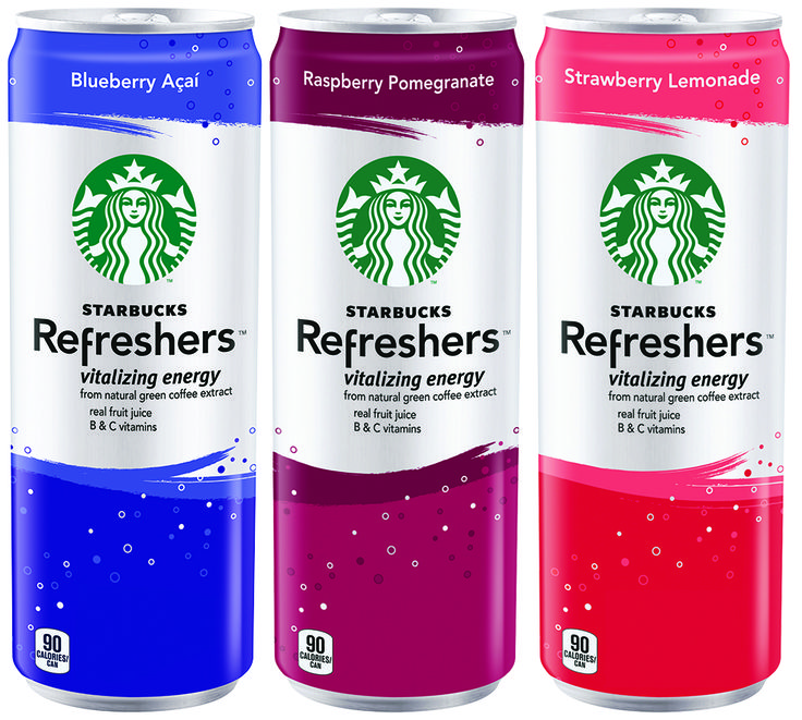 Great Starbucks Refreshers Flavours!