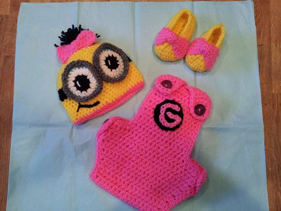 Crochet Patterns For Baby Overalls : Best 25+ Minion Outfit ideas on Pinterest Minions 2014 ...