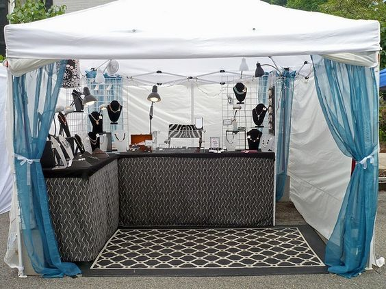 7 outdoor craft fair booth ideas youve never thought of creative income