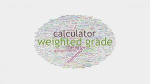 Weightened Grade Calculator http://www.howmuchdoi.com/uncategorised/Weighted-Grade-Calculator-299.html