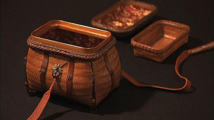 竹細工  Bamboo ware