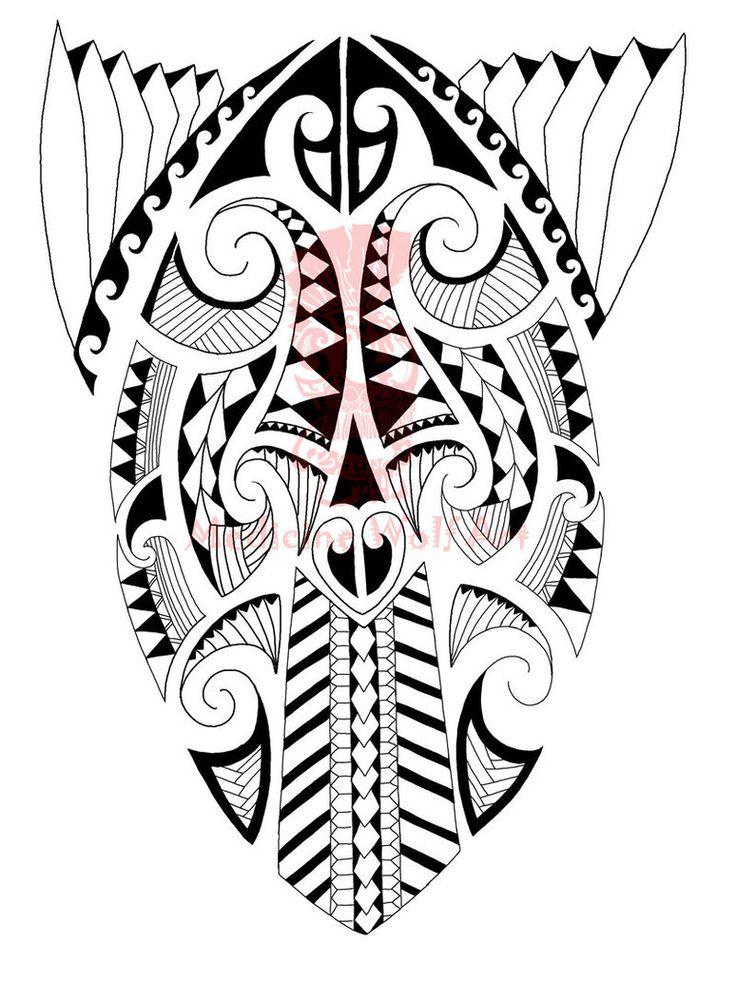 Custom Maori Tattoo Designs: Maori Tattoo Sketch Pictures