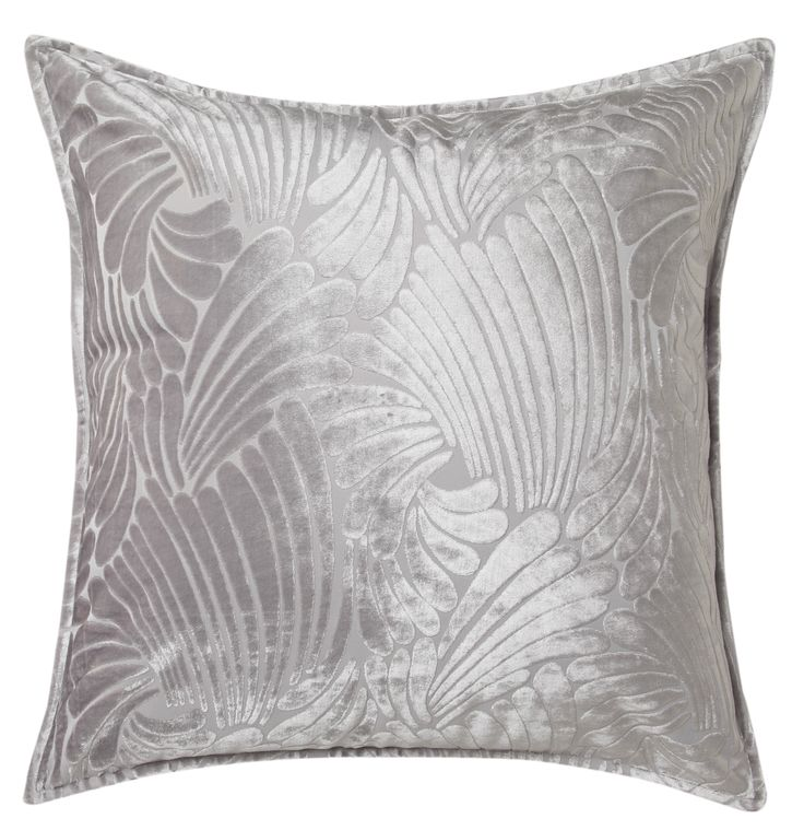Fingers Silver European pillow