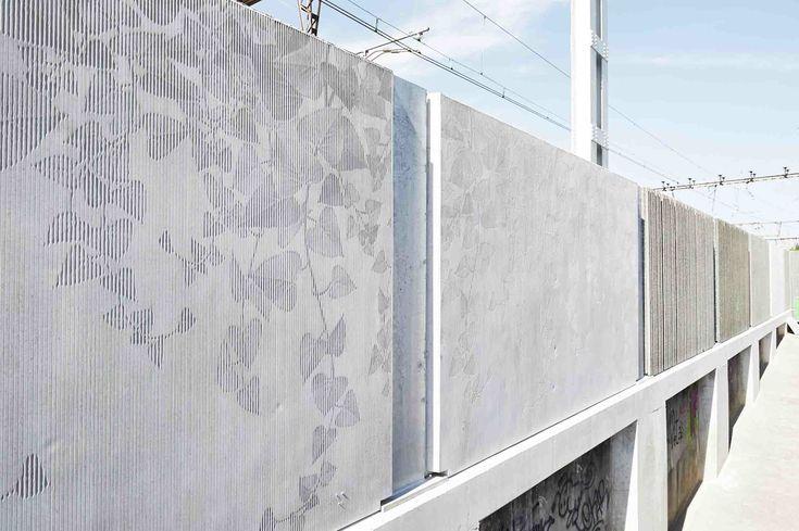 Beton matrice pour ecran 1500 998 b ton photograv d cors b ton pinterest - Decoratief betonpaneel ...