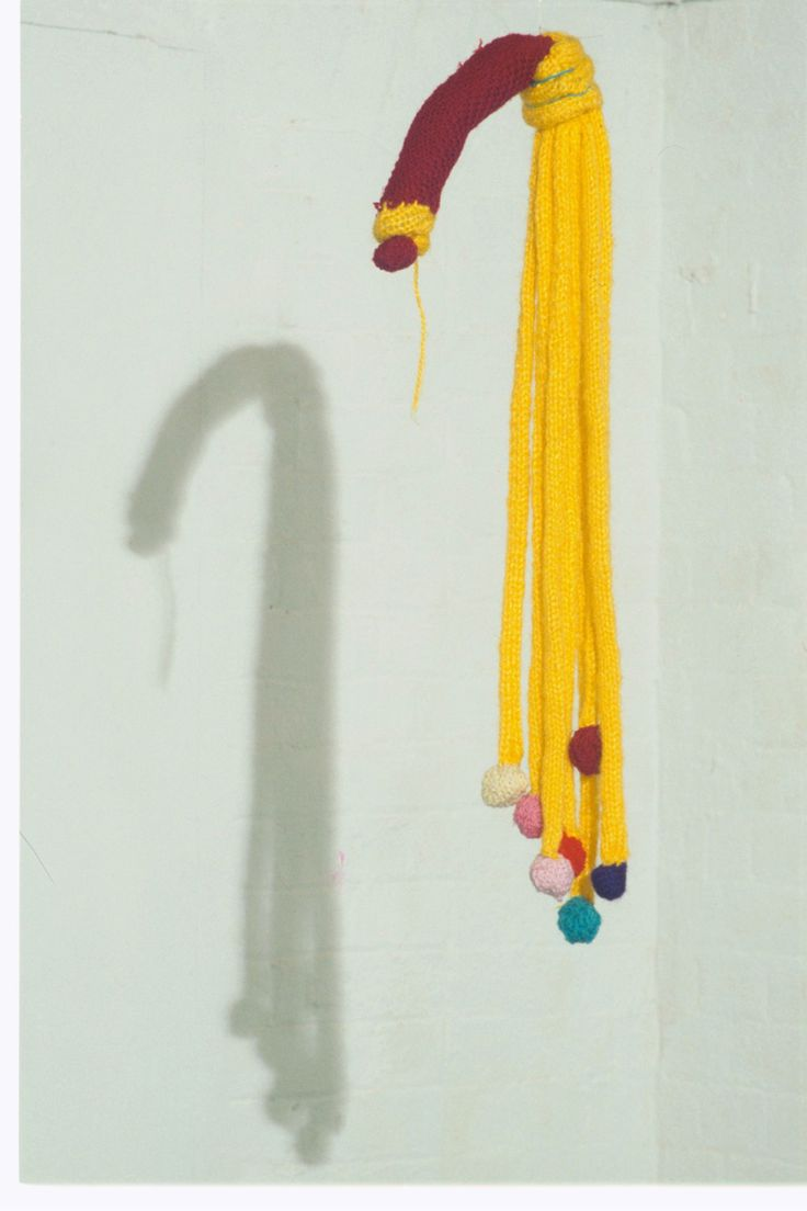 Cat O'Nine Tail Mimi Dennett Knitted acrylic