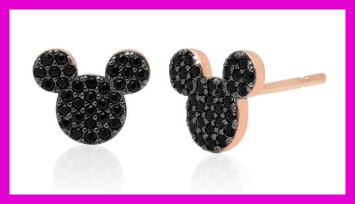 Disney Parks Mickey Icon /& Stars Girls Stud Earrings New