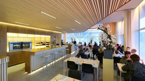 Brasserie de Komeet te Nieuwegein (vanuit de keuken gezien)