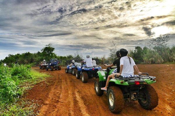 ATV Ride in Misibis