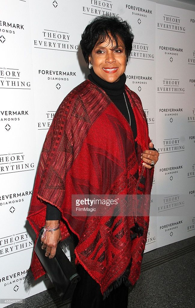Phylicia Rashad attends 'Theory Of Everything ' New York Screening at Lighthouse International Theater on November 5, 2014 in New York City.