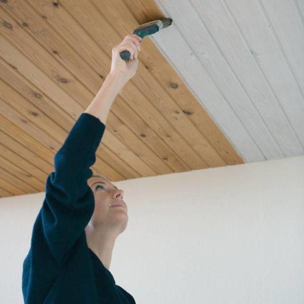 Woca Panel White In 2020 Holzdecken Holzdecke Holzdecke Streichen