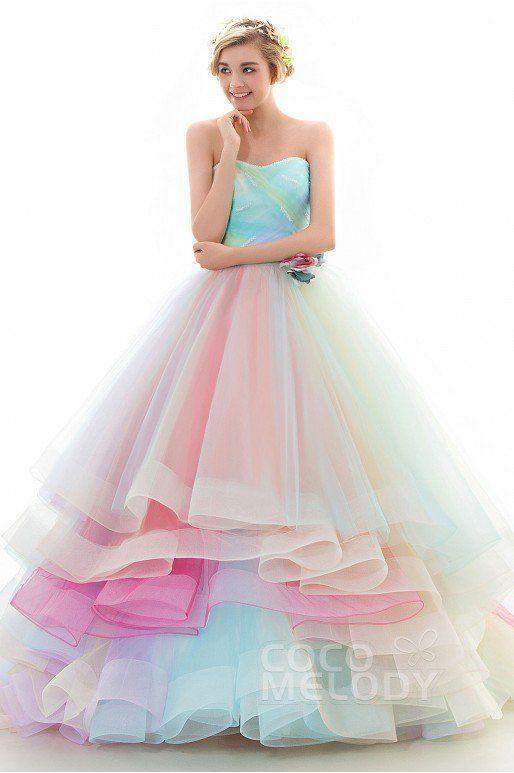 A beautiful multi color dress