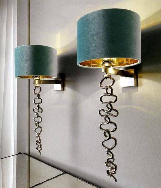 Modern dekoratif duvar aplik aydınlatma modelleri