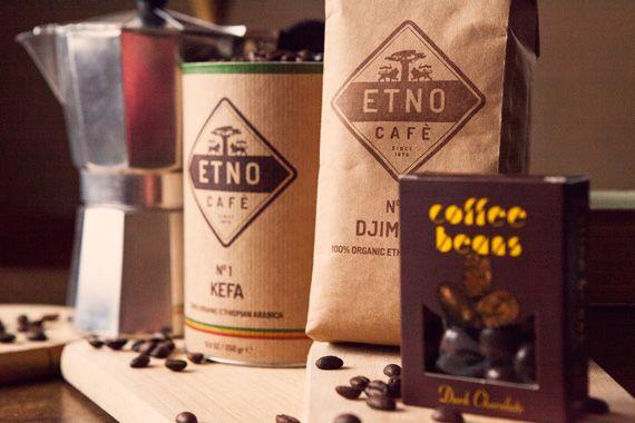 Świeżo palona kawa z Etiopii